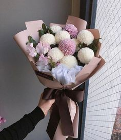 Flower power inspiration for you today! Like and comment below🌷🌷 ⠀ ⠀ Bouquet by ⠀ ⠀ ⠀ My Flower, Fresh Flowers, Beautiful Flowers, Hand Bouquet, Flower Boxes, Floral Bouquets, Floral Flowers, Flower Designs, Floral Arrangements