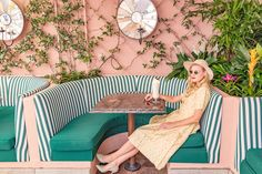 Click through to find your perfect print from our newest series, Gray Malin at The Beverly Hills Hotel, based on your personality. Beverly Hills Hotel, The Beverly, Green Painted Walls, Dorchester Collection, Garden On A Hill, Hotel Decor, Vintage Wardrobe, Art Series, Back In Time
