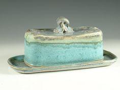 Butter Dish by hodakapottery, via Flickr