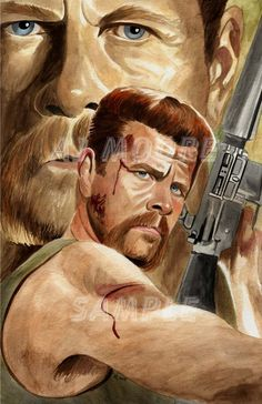 Walking Dead Watercolors all works painted by artist AJ Moore Walking Dead Fan Art, Walking Dead Pictures, Walking Dead Tv Series, Walking Dead Zombies, Walking Dead Memes, Fear The Walking Dead, Glenn Y Maggie, Abraham Ford, Fantasy Anime