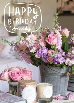 Happy Birthday To You Floral ArrangementsCountry