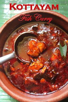 YUMMY TUMMY: Kottayam Style Fish Curry Recipe - Kerala Fish Curry Recipe - Nadan…