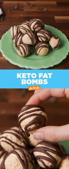 Keto Fat BombsDelish