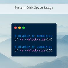 Running out of space on your server? To get an overview of how much space you have on your machine you can use the handy df linux command which reports file system disk space usage. Crazy Facts, Weird Facts, Computer Technology, Computer Science, Wordpress Css, File System, Software Development, Linux, Programming