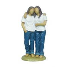 Gay Lesbian Wedding Cake Topper $26.95 this is a cute topper.. This would be me and my babe :)