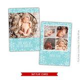 Holiday Photocard Template   Christmas gift   Photoshop templates for photographers by Birdesign