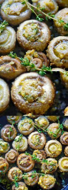 hongos-al-horno-con-ajo-recetas-saludables