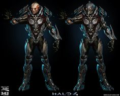 Another shot of the ingame Didact model from Halo 4.
