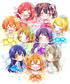 Love live school idol μ's
