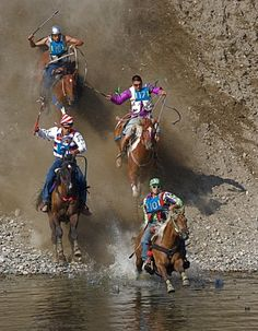 World famous Omak Stampede Suicide Race