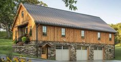 The Kitchen... The Living Room... OH MY, The Interior of This Timber Frame Barn Home is Something ELSE
