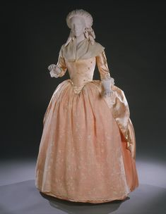 Woman's Dress (Robe à l'anglaise) 1780s