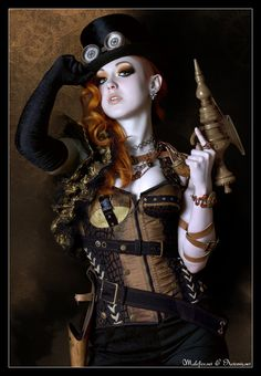 Crystaline : Steampunk Fashion Archives: Photo