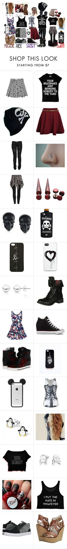 """""""Backstage"""" by sammi-sam-ar on Polyvore featuring Abercrombie & Fitch, Denim of Virtue, Tarina Tarantino, Valfré, Zero Gravity, Mondevio, Soda, Converse, Marc by Marc Jacobs and Bling Jewelry"""