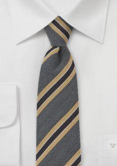 Wool Skinny Tie by BlackBird (Autumn Collection 2013)