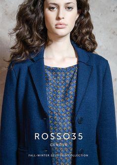 FALL-WINTER 2015/2016 COLLECTION PARIS WHO'S NEXT / FAME BOOTH B218 JANUARY 23 > 26 #rosso35 #genova #fashion #woman #womanswear #readytowear #fw1516 #fallwinter20152016 #collection #madeinitaly #whosnext #whosnextparis #fame