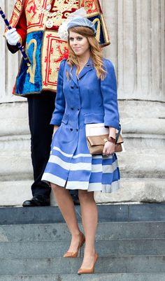 Princess Beatrice of York at The Queen's Diamond Jubilee #fashion #jubilee #harpersbazaar #partysnaps #princess