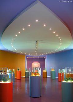 kleur in de architectuur, groninger museum