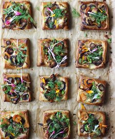 Erica Chan Coffman sur Instagram : On the Easter brunch menu tmrw: @boursincheese tarts with spring vegetables  Recipe on @honestlyyum! #purveyorofwow