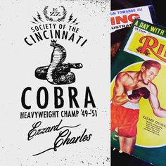 My Creative Year in Review: Provided Writing, Strategy and Naming to Society of the Cincinnati Cobra, a community activation ignited by boxer Ezzard Charles. Collaboration with WHBV agency.