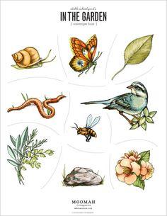 Printable In The Garden Scavenger Hunt | Moomah the Magazine