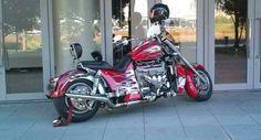 ≪No.0185≫  ・ニックネーム  Mr.S       ・メーカー名、車種、年式  ボスホス、LS3スタンダード、2009年式     ・アピールポイント  シボレーコルベットのオールアルミニウムエンジン「LS3」を搭載するモーターサイクル、通勤仕様。  445馬力のパワーは使いこなせませんが、V8アメリカンサウンドと豪快な加速が魅力的なバイクです。 Motorcycles, Bike, Bicycle, Trial Bike, Motorcycle, Motorbikes, Bicycles, Crotch Rockets