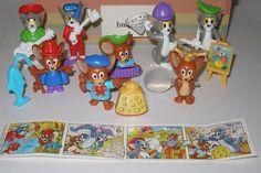 Komplettsatz Steckfiguren EU Tom Und Jerry 1998 Mit Allen Zetteln | eBay
