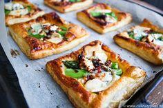 Grüner Spargel, Ziegenkäse, Blätterteig = superschnell, easy & lecker | culinary pixel - food & foto blog