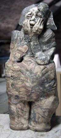 Sculpture by May Ayres - The Price is Worth it