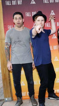 Joe and Patrick>>>> THIS WAS AT THE ATLANTA BOYS OF ZUMMER MEET AND GREET