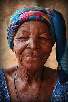 Elderly Woman in Ouagadougou [Burkina Faso] by Digital Don