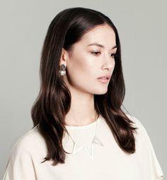 Mei-Li Rose jewellery articulated drop earring