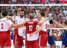 Poland dethrone Brazil as men's champions Katowice, Poland, September 2014 – Poland dethroned Brazil as monarchs of men's volleyball with an epic victory in four sets in front of a crowd of more than spectators at Spodek Hall on Sunday. We Are The Champions, Boy Tattoos, Mans World, World Championship, Volleyball, Victorious, Life Is Good, Like4like, September 21