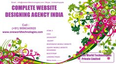Complete Website Designing Agency Services from India Company :  Check Services and Prices Here : -https://cmsdevelopmentagencyindia.wordpress.com/2016/08/11/complete-website-designing-and-graphics-design-agency-in-india/