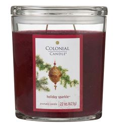 Another Colonial Candle holiday scent that is simply incredible!  If you're having a hard time getting in the mood for Christmas,  just light one of these & give it a try.