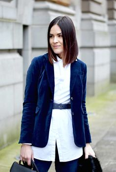 Boden Navy Suit - LAFOTKA Fashion BLogger5