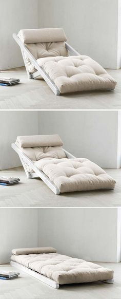 Could be used as a guest sleeper...when downsizing, multi-functional furniture takes up the least amount of space.