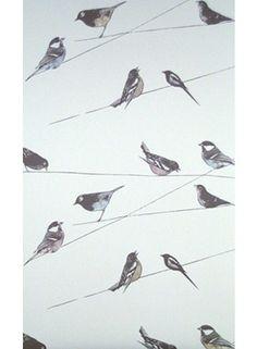 Wallpaper | Birds | Engelska Tapetmagasinet | Interior inspiration