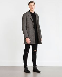ZARA - MAN - COAT WITH QUILTED LINING