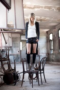 edgy bohemian Paula Cahen D´Anvers AW11