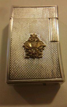 Briquet Dupont Drago indochine objet militaire militaria -  Photo 1 -