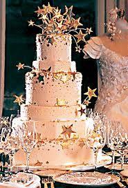 star themed wedding cake :)