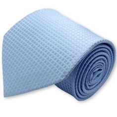 """Cravate """"bleu-layette"""""""