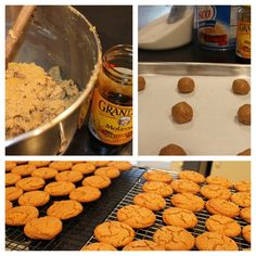 molasses cookies.  forget any preconceived notions about molasses...these cookies are AMAZING.  perfect for the holidays.