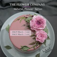 LAST SEAT!! SHINY BUTTERCREAM Don't miss it! Learn over 20different type of flowers in 2 days with @the_flower_company Korea This is an advanced class for those with previous flower buttercream experience Grab your seat now! Contact us via email at bakerstudioo@gmail.com or line us at @bakerstudioo (include @)