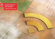 """Vodafone Farmer's Club: WiFi   Where are you? I don't know, where are you? """"What's around me?"""" application from Vodafone.  Advertising Agency: Y İstanbul / Team Red, Istanbul, Turkey"""