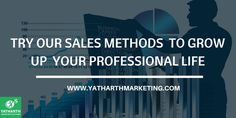 Different companies use different sales method. Our sales methods help you for growing up in your professional life. Contact to us  #salestraining #salestips #BusinessDevelopment #professionaldevelopment
