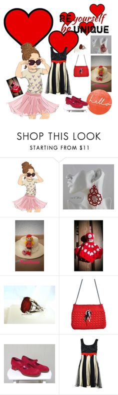 """Be red"" by nanitas23 ❤ liked on Polyvore featuring interior, interiors, interior design, home, home decor, interior decorating, Paul Frank, Nintendo, Charles Jourdan and Moschino"