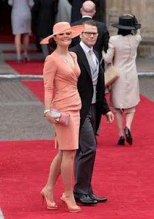 Prince Daniel and Sweden's Crown Princess Victoria
