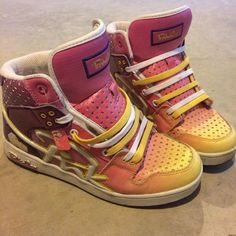 Pink Dice Shoes